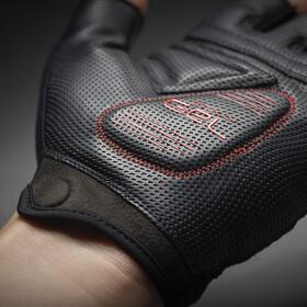 GripGrab ProGel Hi-Vis Padded Short Finger Gloves pink